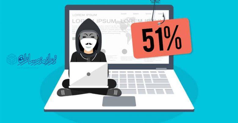 حمله 51 درصدی چیست